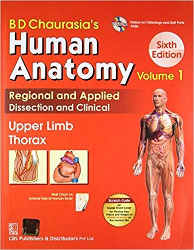 BD Chauarsia Human Anatomy
