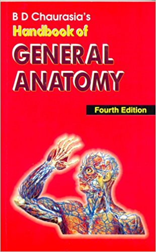 DB chaurasia handbook of general anatomy pdf