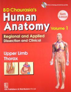 BD Chaurasia human anatomy pdf