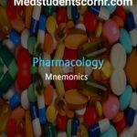 Drugs Mnemonics: