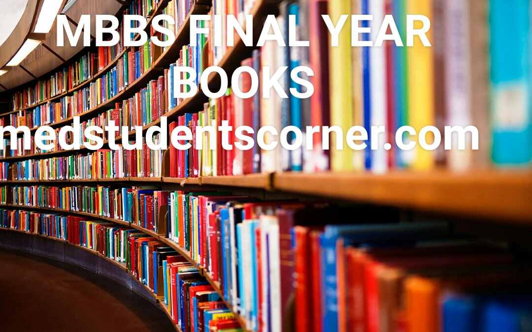 MBBS Final Year Books Pdf