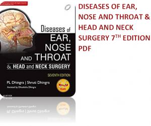 Dhingra Diseases of ENT pdf