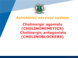 cholinergis agonist and antagonist drugs classification list