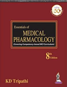 KD Tripathi Essential of Medical pharmacology PDF