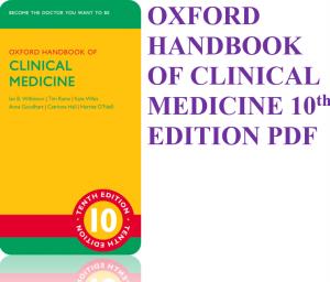 oxford handbook of clinical medicine pdf 10th edition