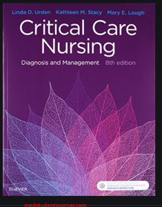 critical care nursing; diagnosis and manegement pdf