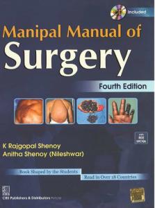 manipal manual of surgery pdf