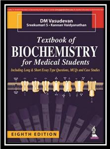 dm vasudevan textbook of biochemistry for medical students pdf