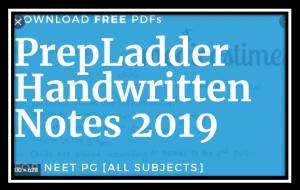 prepladder handwritten notes 2019 pdf