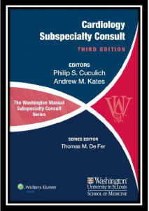 The Washington Manual: Cardiology Subspecialty Consult pdf