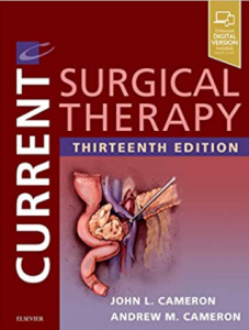 Current surgical therapy 13th edition pdf