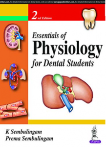 K sembulingam essential of physiology for dental students pdf