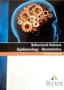 Becker usmle step 1 behavioral science epidemiology biostatistics pdf