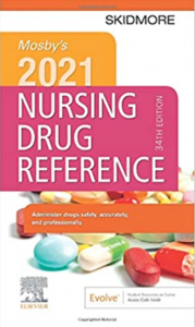 Mosby's 2021 Nursing Drug Reference 34th Edition PDF