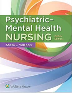Psychiatric-Mental Health Nursing 8th Edition PDF free