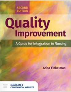 Quality Improvement A Guide for Integration in Nursing 2nd Edition PDF free