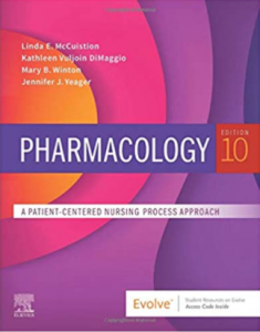 Pharmacology A patient-Centered Nursing Process Approach 10th Edition PDF