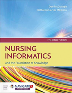 Nursing Informatics and the Foundation of Knowledge 4th Edition PDF