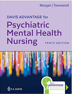 Davis Advantage for Psychiatric Mental Health Nursing 10th Edition PDF