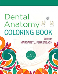 Dental Anatomy Coloring Book 3rd Edition PDF