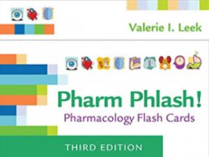 Pharm Phlash Pharmacology Flash Cards 3rd Edition