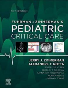 Fuhrman and Zimmerman's Pediatric Critical Care 6th Edition PDF