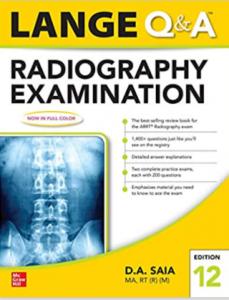Lange Q & A Radiography Examination 12th Edition PDF