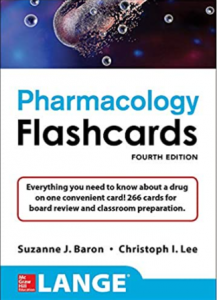 Lange Pharmacology Flashcards 4th Edition PDF
