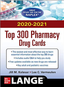 McGraw-Hill's 2020/2021 Top 300 Pharmacy Drug Cards 5th Edition PDF