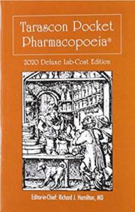 Tarascon Pocket Pharmacopoeia 2020 Deluxe LabCoat Edition 21st Edition PDF