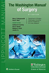 The Washington Manual of Surgery 8th Edition PDF