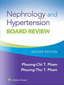 Nephrology and Hypertension Board Review 2nd Edition PDF