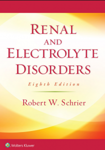 Renal and Electrolytic Disorder 8th Edition PDF