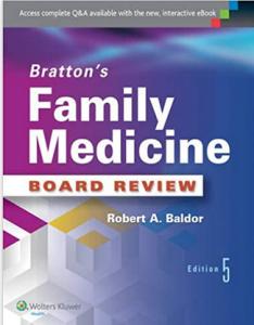 Bratton's Family Medicine Board Review 5th Edition PDF