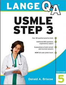 Lange Q&A USMLE Step 3 PDF free