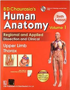 Download BD Chaurasia's Human Anatomy Vol 1 Upper Limb Thorax PDF free