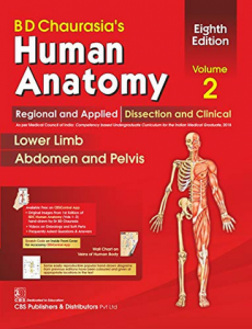 BD Chaurasia's Human Anatomy Regional and Applied Dissection vol 2 PDF Free