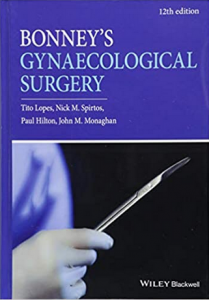 Bonney's Gynaecological Surgery 12th Edition pdf free