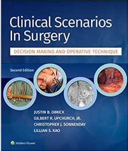 Clinical Scenarios in Surgery 2nd Edition PDF free