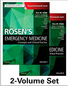 Rosen's Emergency Medicine Concepts and Clinical Practice Volume 1&2 9th Edition PDF free