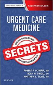 Urgent Care Medicine Secrets PDF free