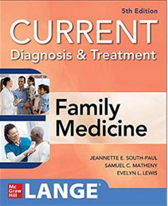 Current Diagnosis & Treatment in Family Medicine 5th Edition PDF free