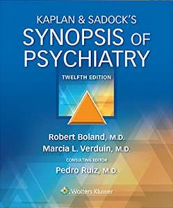 Download Kaplan & Sadock's Synopsis of Psychiatry 12th Edition PDF Free
