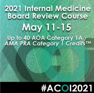 Download ACOI Internal Medicine Board Review Course 2021 Free